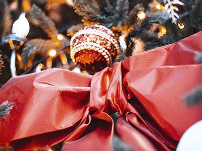 Церемония зажжения рождественской елки для детей