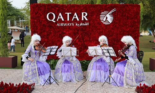 В Дохе прошел фестиваль красочных садов Аль-Васми